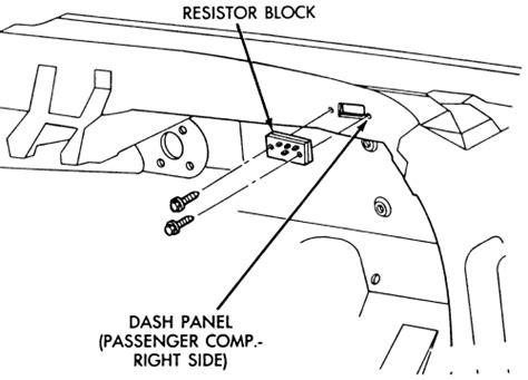 how to remove resistor repair guides heater blower motor resistor autozone