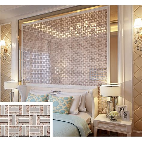 cheap bathroom wall decor cream crystal glass tile backsplash ideas bathroom silver