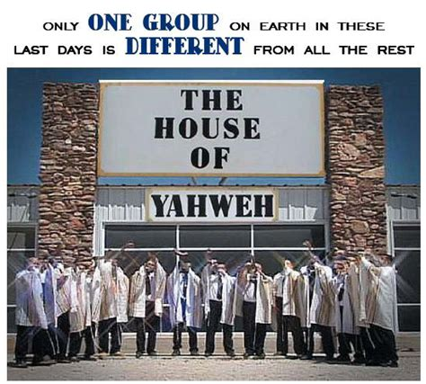 the house of yahweh outside of yahweh s plan for mankind there is no reason for man living the house