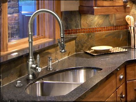 Air In Kitchen Faucet How To Choose A Kitchen Sink Part Iii Abode