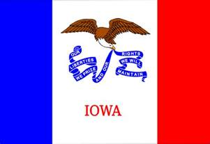 iowa state colors us iowa flag clip at clker vector clip
