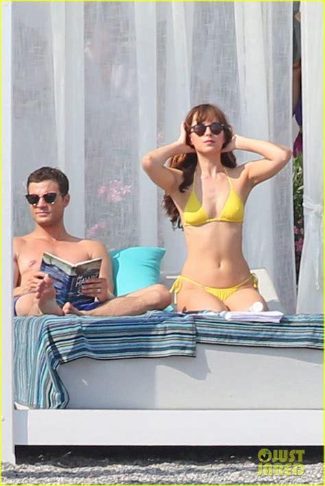 fifty shades darker movie filming locations leak ahead shirtless jamie dornan bikini clad dakota johnson film