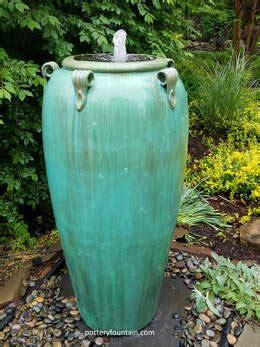 pottery vase fountains   potteryfountaincom