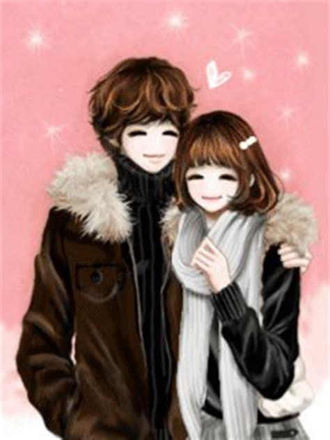 wallpaper bergerak couple chinthya dyana anime couple korea gif and jpg