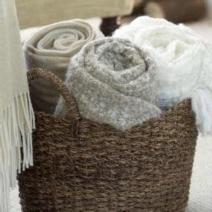 large basket for storing throw pillows 25 best ideas about blanket basket on blanket