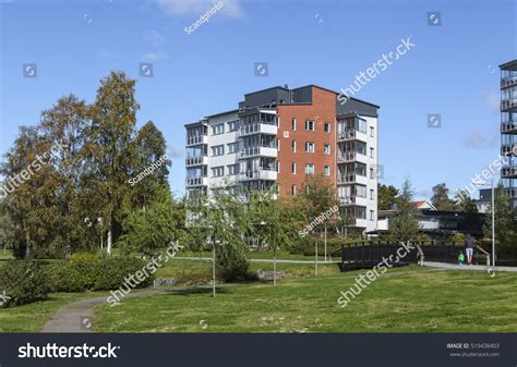path housing umea sweden on september 02 view stock photo 519438403