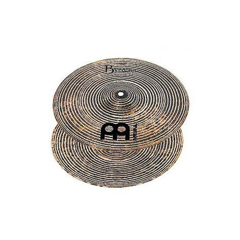 Meinl Cymbal Byzance Hihat 13 meinl 13 inch byzance spectrum hi hat cymbals pair reverb