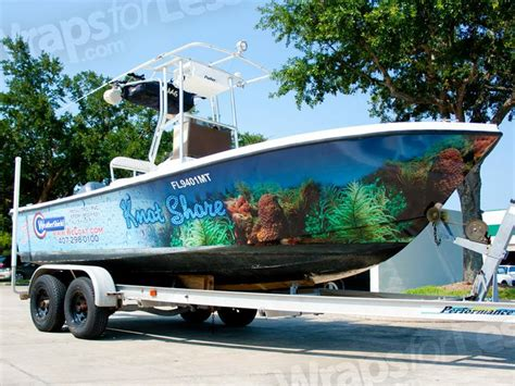 boat wraps kentucky custom 3m vinyl boatwrap knotshore wrapsforless