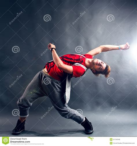 Move Your On The Floor by Breakdancer Royalty Free Stock Images Image