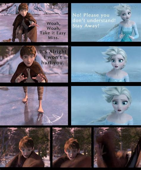 film frozen elsa dan jack 77 best jack frost x elsa jelsa images on pinterest