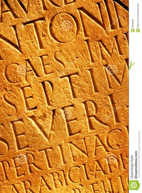 lettere romane struttura delle lettere romane fotografia stock immagine