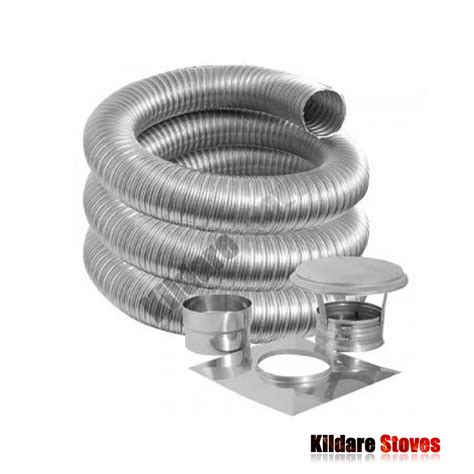 Chimney Liner Cleaning Kit - flexi flue liner kit two ply flexi flues kildare
