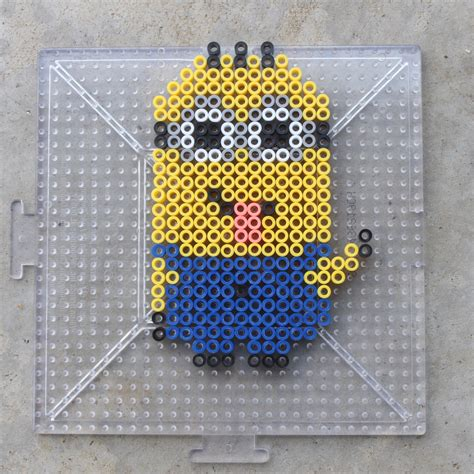 how to make out of perler minions perler bead patterns