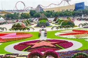 World Dubai Entrance Fee 45 Million Flowers World S Most Beautiful Dubai Miracle