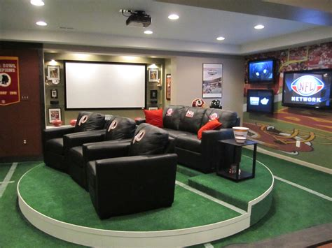 football room complete hydraulic on mave caves diy network