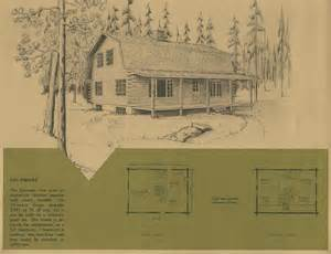 Log Cabin Plans Free Vintage Log Cabin Plans 7 Antique Alter Ego