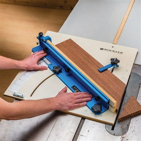 table saw sled dimensions rockler tablesaw crosscut sled sled diy and crafts and