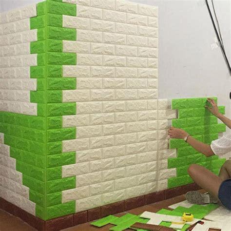 70x77cm pe foam 3d wall stickers safty home decor creative pe foam 3d wall stickers safty home decor