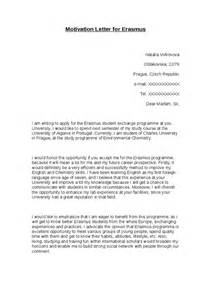cover letter erasmus motivation letter for erasmus hashdoc