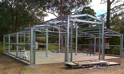Titan Sheds Underwood by Ozbarn Side Truss For 10 Metre Wide