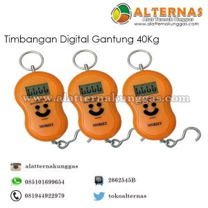 Timbangan Digital Ternak timbangan gantung digital 40 kg alat ternak alat ternak