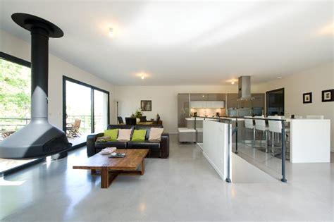 cuisine minimaliste design agr 233 able amenagement cuisine ouverte salon 12 s233jour
