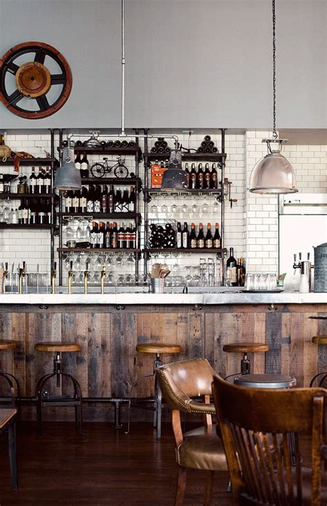 Restaurant Decor Styles by Restaurant Rustic Industrial Style Future