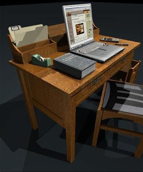 Craftsman Writing Desk by Handmade Stickley 708 Craftsman Writing Desk By Starcraft