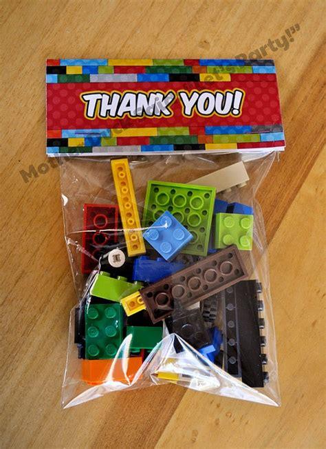 Souvenir Goodie Bag Ransel Banner Lego 3 lego favorsbirthday bags student gift lego boys birthday