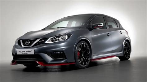 nissan grey nissan pulsar nismo concept revealed at paris motor show