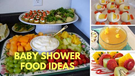 Popular Baby Shower Foods by Baby Shower Food Ideas On A Budget Theme And Decoration