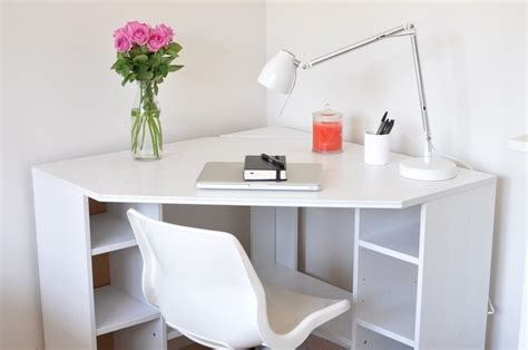 white corner desk with storage reserved white ikea borgsj 246 corner desk in edinburgh