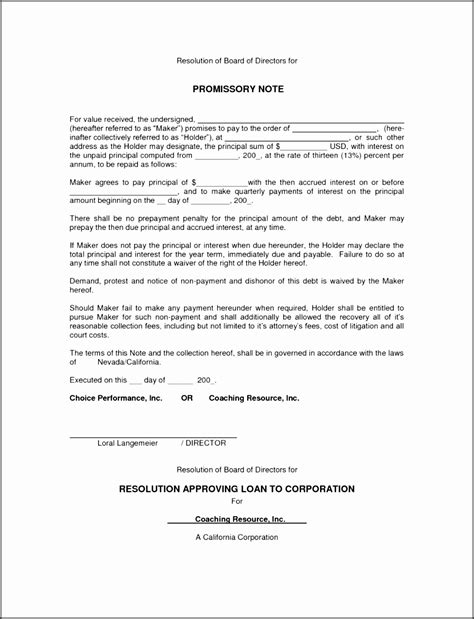 promissory note template canada 10 promissory note template canada sletemplatess