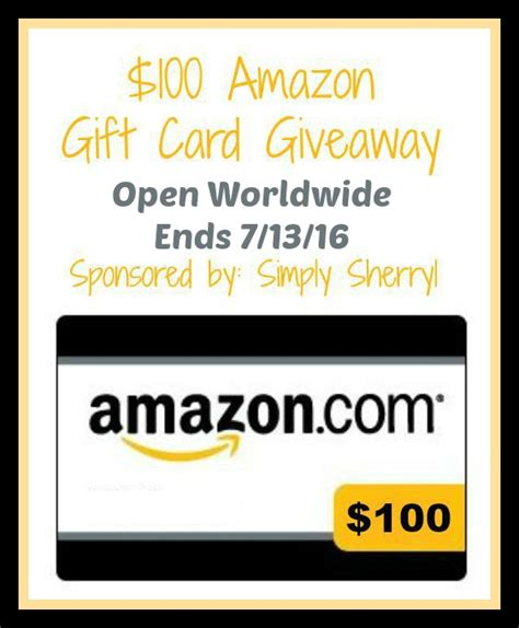 Free 100 Amazon Gift Card - 100 amazon gift card giveaway it s free at last