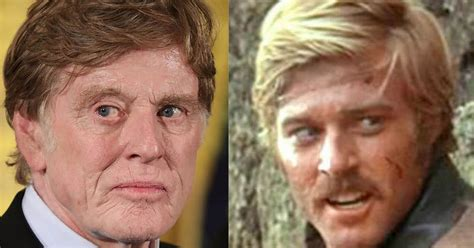 robert redford hairpiece movie star robert redford looks a little too good for his