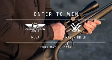 Gat Daily Giveaway - christensen arms 174 vortex 174 giveaway gat daily guns ammo tactical
