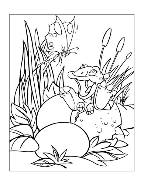 land before time coloring page coloring home