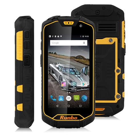 runbo q5 4 5 quot 4g lte rugged smartphone android 5 1 2gb 16gb dual sim ebay