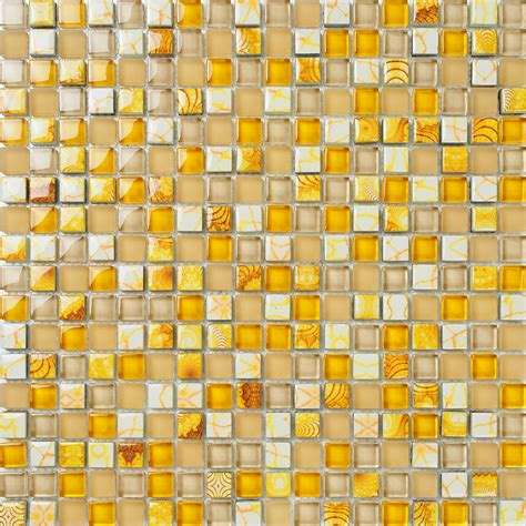 aliexpress buy yellow glass mosaic tiles