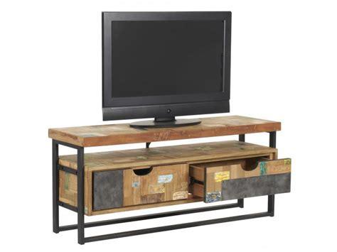 regal schubladen tv regal im industriedesign lowboard aus metall und holz