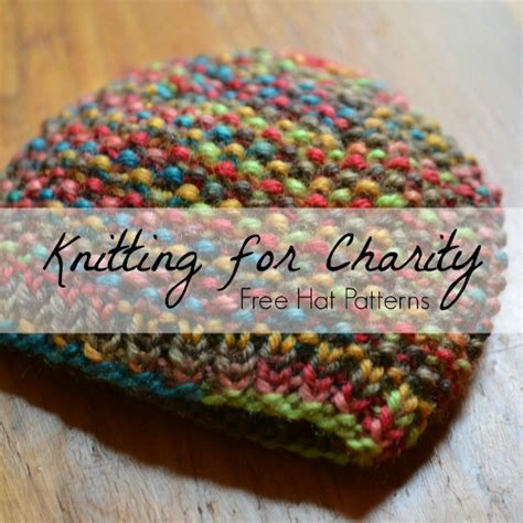 knit for charity knitting for charity 20 hat patterns allfreeknitting