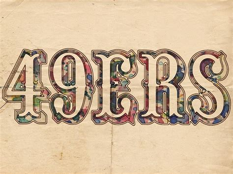 Drawing 49ers Logo by San Francisco 49ers Vintage Logo Painting By Florian Rodarte