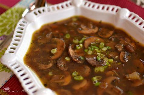 mushroom soup a southern soul mushroom soup with no cream