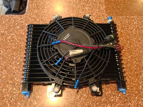b m cooler with fan b m transmission cooler with fan weapon x motorsports