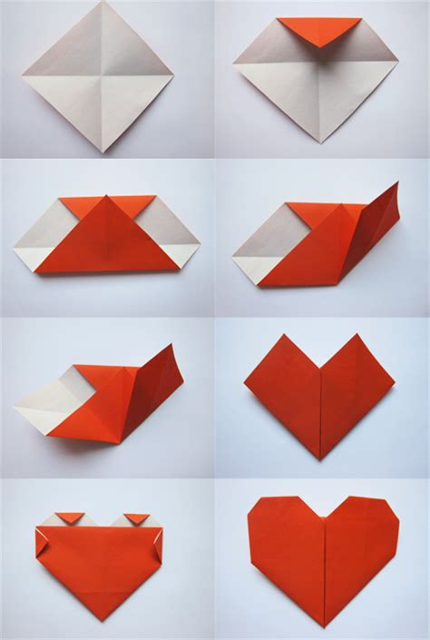 Origami Paper Hearts - my entry to appliances craft competition