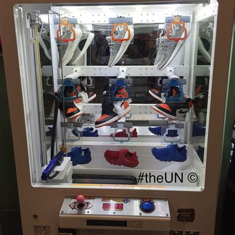 sneaker vending machine a store turned your favorite childhood arcade into a