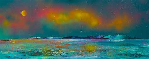 spray painter scotland the isle of arran scotland landscape paintings prints