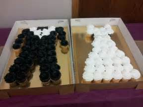 bride and groom cupcakes wedding pinterest