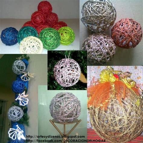 plantillas de decoracion navideñeo arbol diy 191 c 243 mo hacer bolas o esferas para navidad decoraci 243 n hogar dise 241 o de interiores c 243 mo