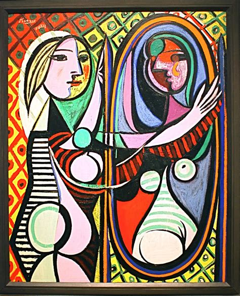 picasso paintings in mirror a before a mirror ii broken lyrics